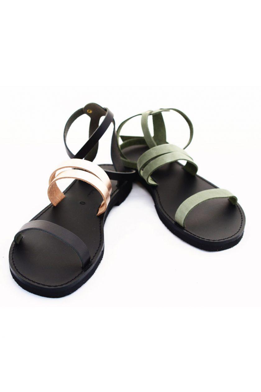 Sandale din piele naturală FUNKY GLAM