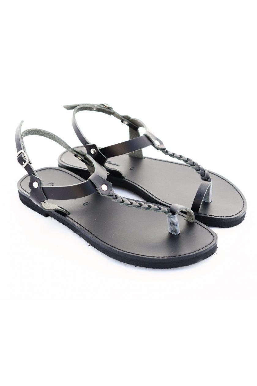 Sandale grecești FUNKY LOOKS, negru