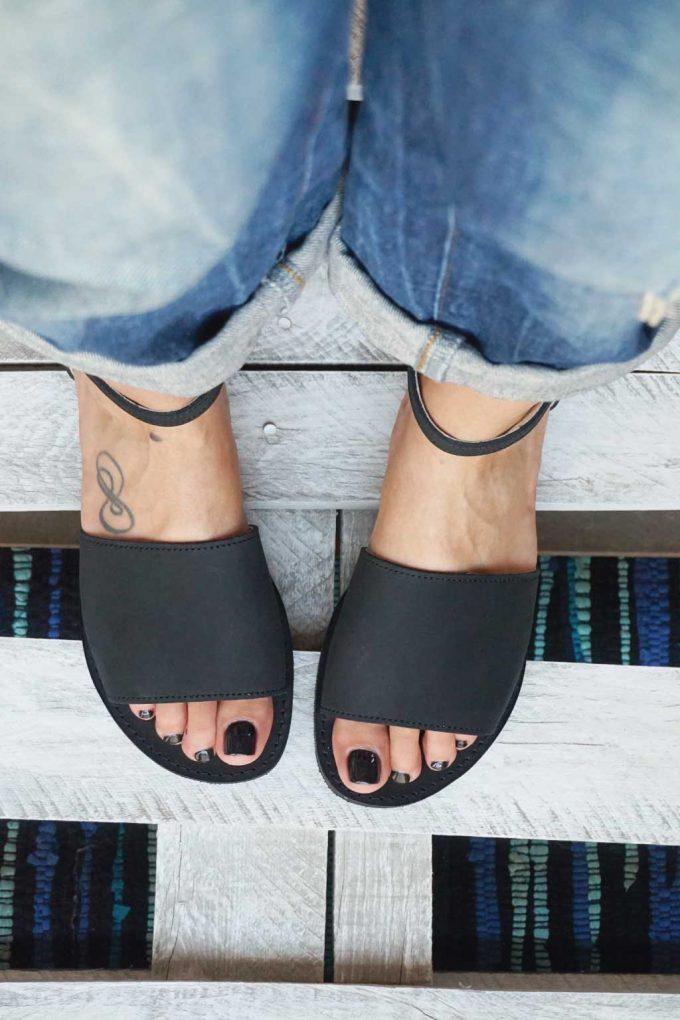 Sandale damă FUNKY WOMAN, negru