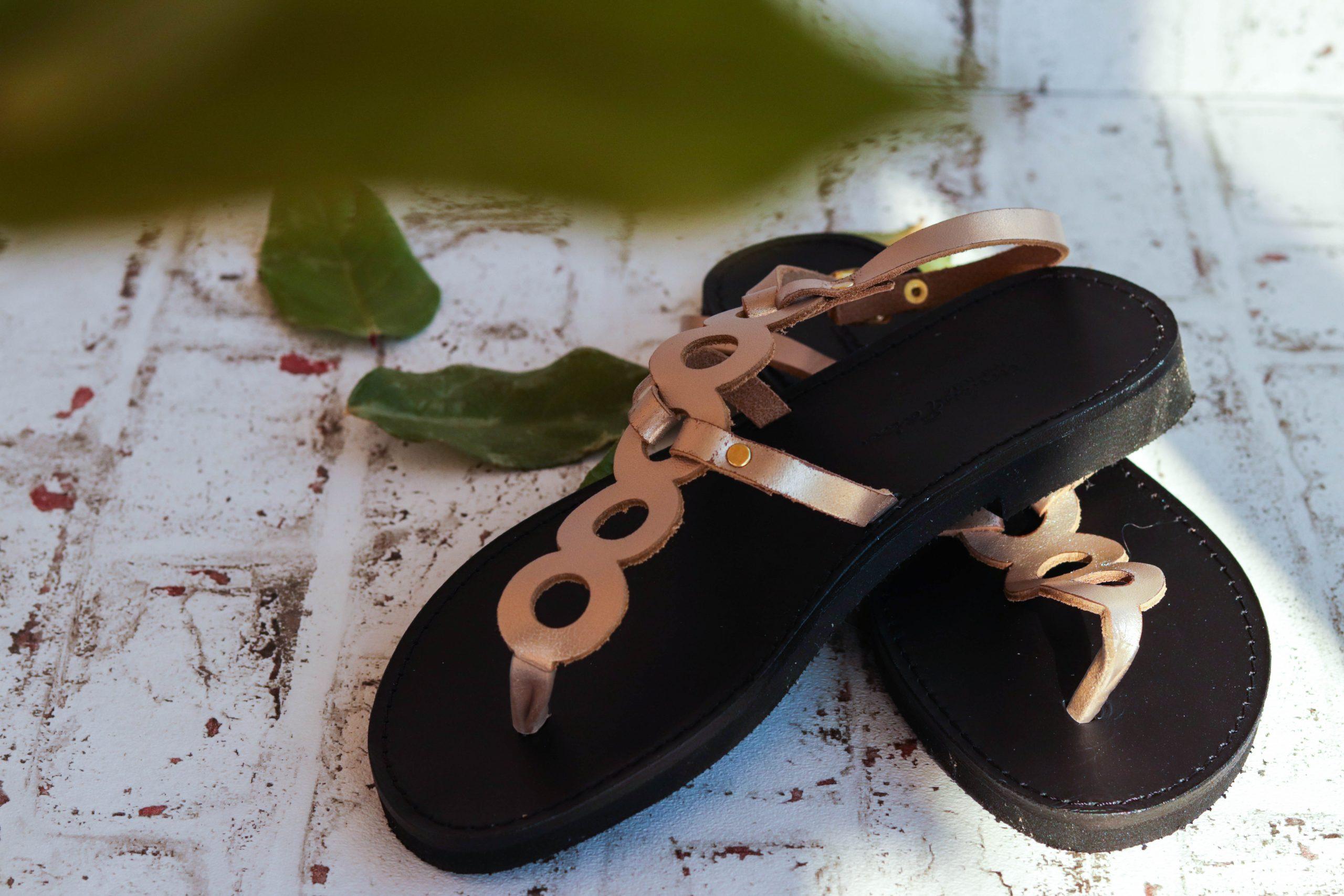 Sandale damă FUNKY SOCIAL, grej metalic